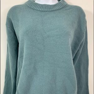 Vince Teal 100% Casmere Pullover Sweater